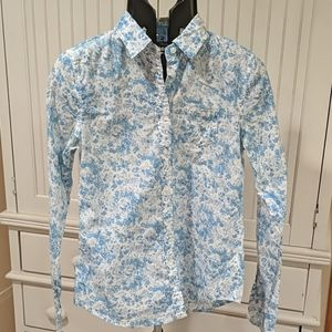 Vintage American Eagle Floral Buttondown